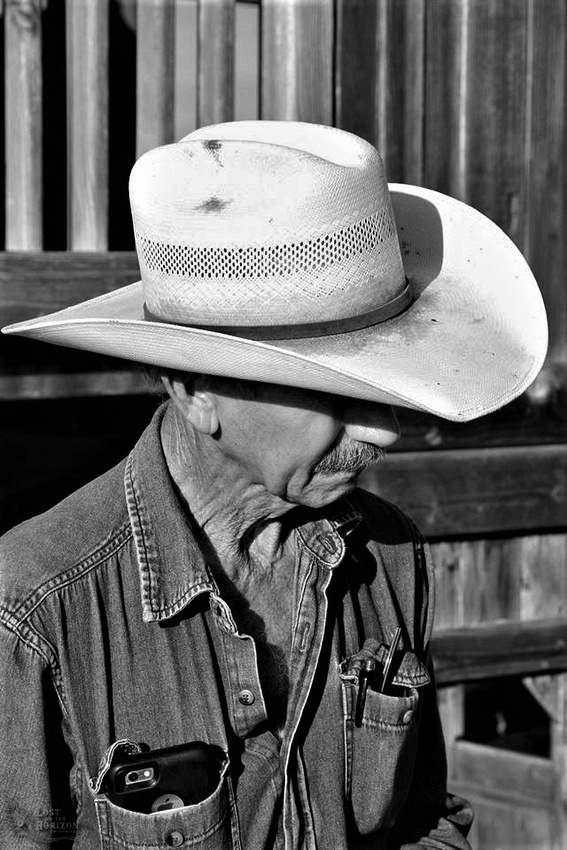 Cowboy with hat